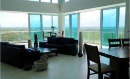 Condo-Peninsula Cancun-Venta-Sala