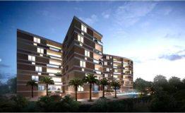 Depto-Kiara Aqua Cancun-Venta-Vista de edificio