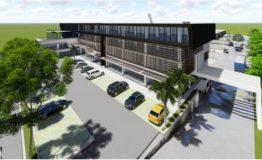 Oficinas, bodegas-Cusntorage Cancun-Renta- Estacionamiento. Vista exterior