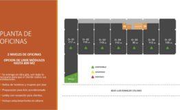 Oficinas, bodegas-Cusntorage Cancun-Renta- Plano oficinas
