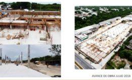 Oficinas, bodegas-Cusntorage Cancun-Renta- avance de obras