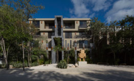 Depto-Arthouse tulum-Venta-Edificio. 2