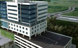 Consultorios- Azuna Cancun-Venta.-Vista aerea edificio