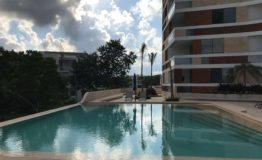 Depto-Kiara Aqua Cancun-Venta-Alberca