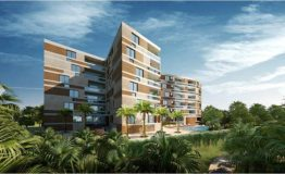 Depto-Kiara Aqua Cancun-Venta-Vista de edificio. 2