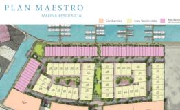 Terreno-Marina Residencial P Cancun-Venta-Plano