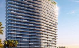 Depto -SLS Marina Beach-Puerta Cancun- Venta-Vista edificio