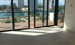 Depto-Allure Puerto Cancun-Venta- Vista a mar desde el interior