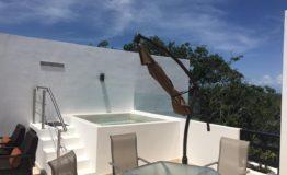 PH en venta Ana Tulum roof garden1