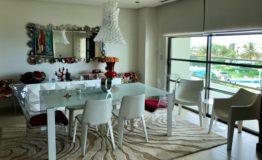 Departamento en venta Novo Cancun comedor