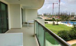 Departamento en venta Novo Cancun terraza