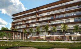 Depto-Antaal-Puerto Cancun-Venta-Vista exterior edificio 2
