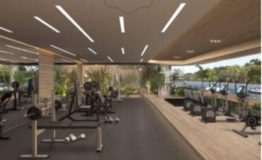Depto-Delamar Puerto Cancun-Venta-Gym