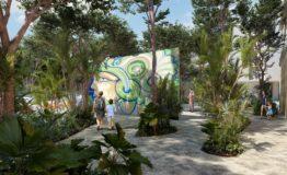 Depto- Tuk Tulum-Venta -Exterior. art walk