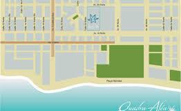 Departamento-Quadra Alea-Playa del Carmen-Venta- mapa ubicacion
