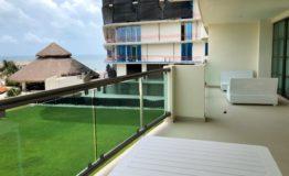 Departamento en venta Novo Cancunn terraza 1