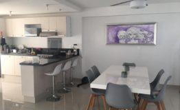 Departamento en venta Tziara Cancun cocina comedor