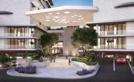 Depto-Allure Puerto Cancun-Venta- Vista Frontal edificio