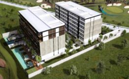 Depto-Antaal-Puerto Cancun-Venta-Vista aerea edificio