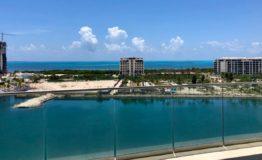 Depto Aria Cancun-Venta - Vista aerea desde terraza