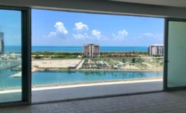 Depto Aria Cancun-Venta - Vista desde interior edificio