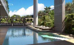 Depto-Delamar Puerto Cancun-Venta-Alberca