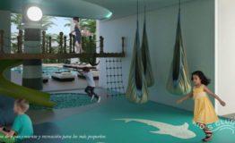 Depto-Delamar Puerto Cancun-Venta-Area de recreacion