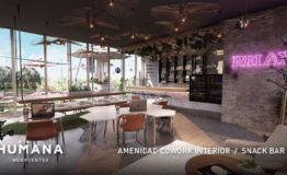 Oficina-Humana Workcenter Playa del Carmen- Venta-Snack bar