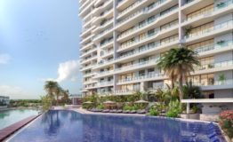 Depto-Blume Boutique Condos-Puerto Cancun -Venta-Alberca Principal