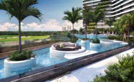 Depto-Woha-Puerto Cancun- Venta-Alberca Lounge