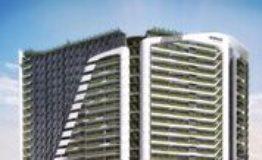 Depto-Woha-Puerto Cancun- Venta-Fachada Edificio