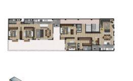 Departamento en Venta- Frontera 137 - Col Roma CDMX- Plano Primer Nivel