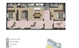 Departamento en Venta- Frontera 137 - Col Roma CDMX- Tipo de Depto B