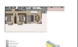 Departamento en Venta- Frontera 137 - Col Roma CDMX- Tipo de Depto B. 95 m2