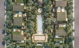 Departamento en venta La Reserva Tulum vista desde arriba