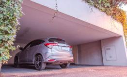 Casa en venta Los Encinos estacionamiento